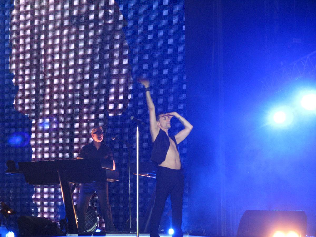 Depeche Mode  Концерт в Москве 07 марта 2014  VK